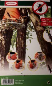 natürlicher Pflanzenschutz für Obstbäume: Nisthilfe für Ohrenkneifer